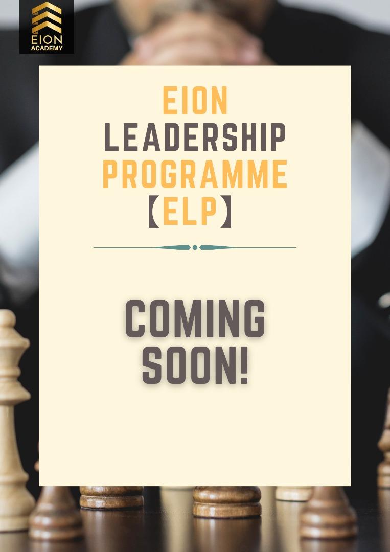 EION LEADERSHIP PROGRAMME